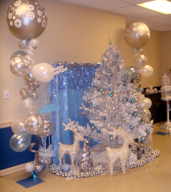 Winter Wonderland Sweet 16 Miller S Balloon Blog